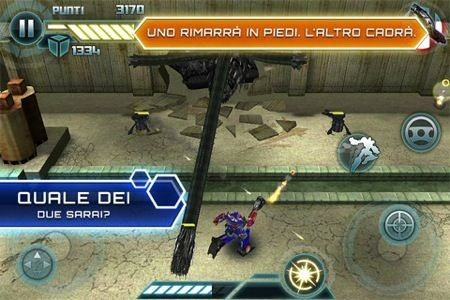 Transformers 3, tredici livelli di gioco