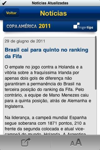 Coppa America, news in dettaglio