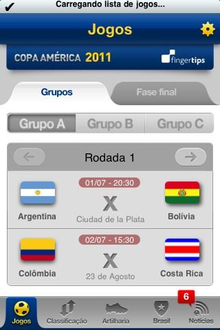 Coppa America, le partite