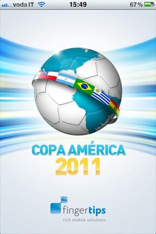 Coppa America, l'app non ufficiale