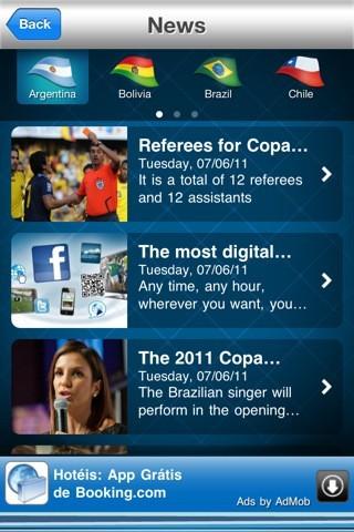 Coppa America, le news