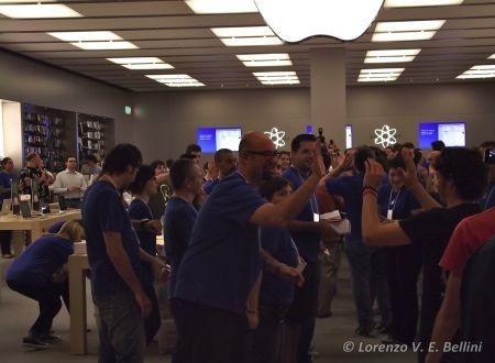 Apple Store Rozzano Milano - Inaugurazione