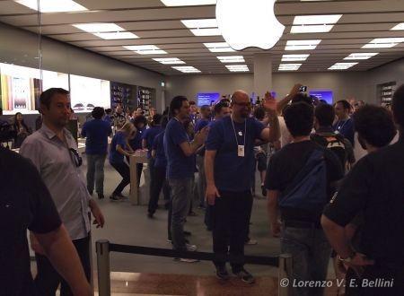 Apple Store Rozzano, l'inaugurazione
