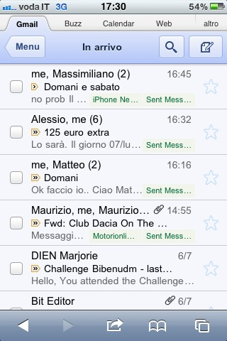 Sincronizzare iPhone con Gmail, le mail su Safari