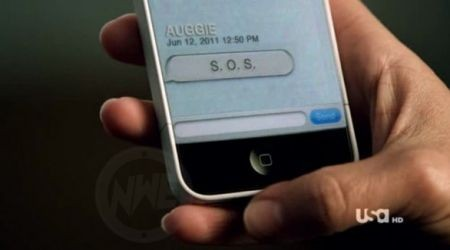 iPhone 5 in Covert Affairs