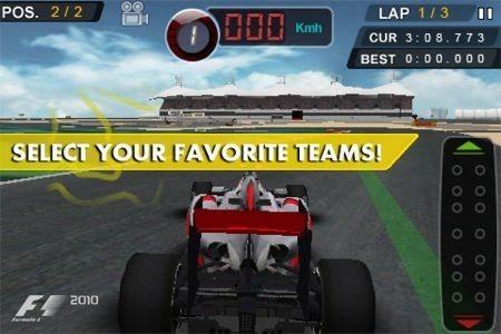 F1 2010, tutte le squadre
