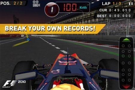 F1 2010, batti il tempo
