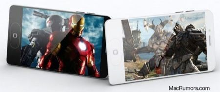 Mockup iPhone 5, la proposta di MacRumors