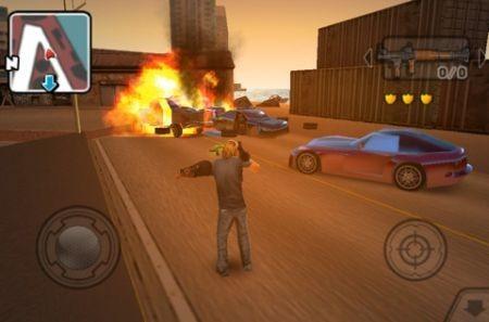Gangstar, sparatorie ed esplosioni