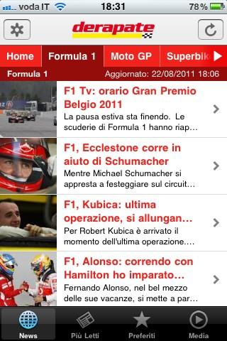 Derapate, la Formula 1