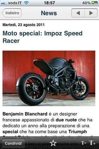 Next Moto, le novit�