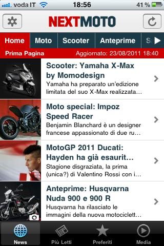 Next Moto, le news
