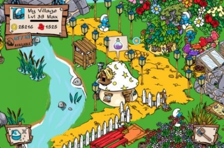 Smurf's Village, per iPhone e iPad