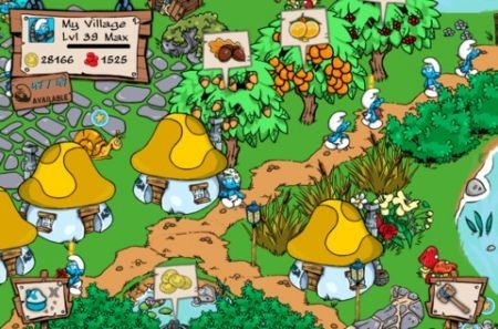 Smurf's Village screenshots