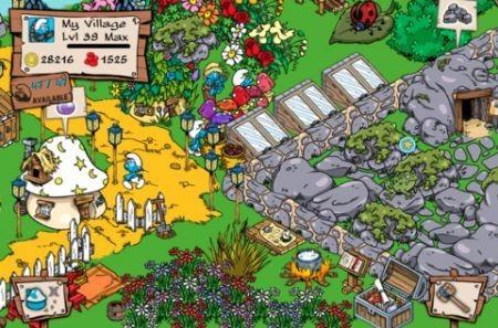 Smurf's Village, ricostruisci il villaggio