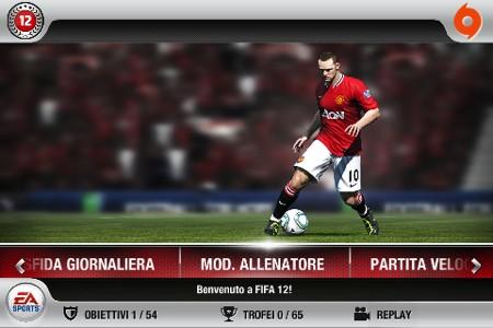 FIFA 12, il men�