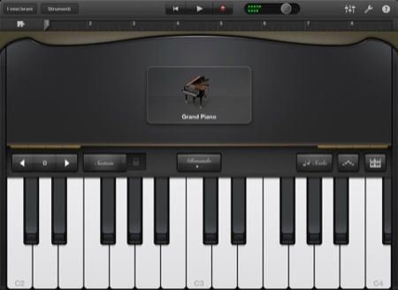 GarageBand per iPhone e iPad