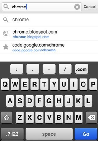 Google Chrome per iOS