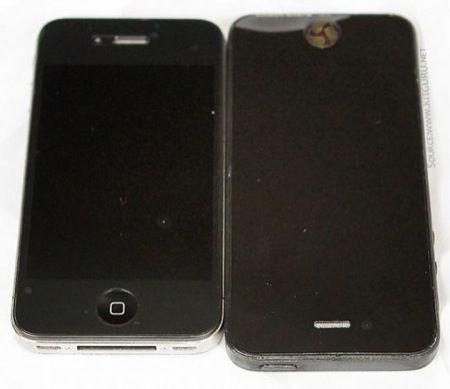iPhone 5, mockup per produttori