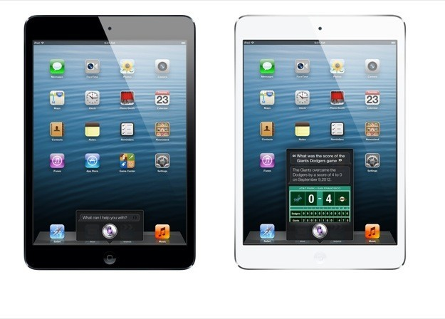iPad mini - Siri