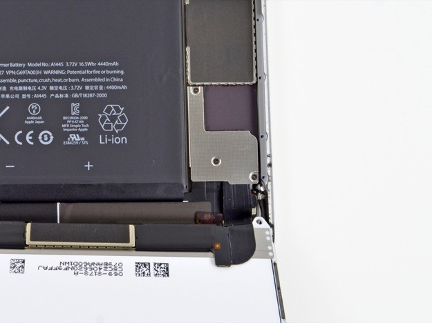 iPad mini smontato da iFixit - Particolare