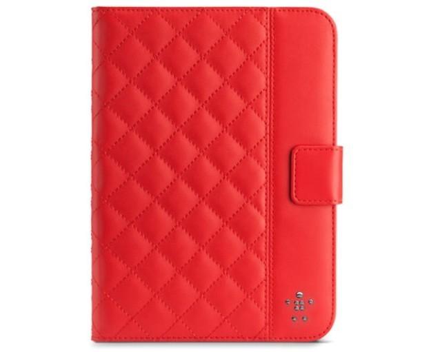 Belkin - Cover trapuntata rosso rubino
