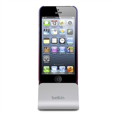 Dock iPhone 5 Belkin - Con telefono