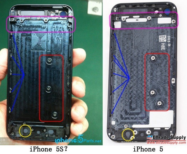 Foto spia iPhone 5S - Cover
