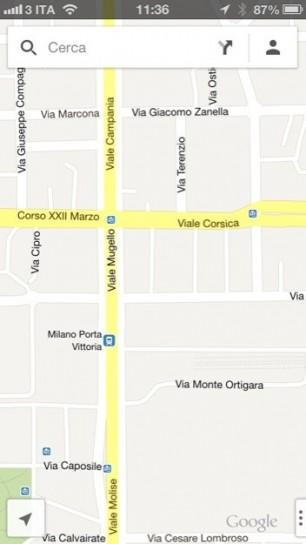 Google Maps - Mappa
