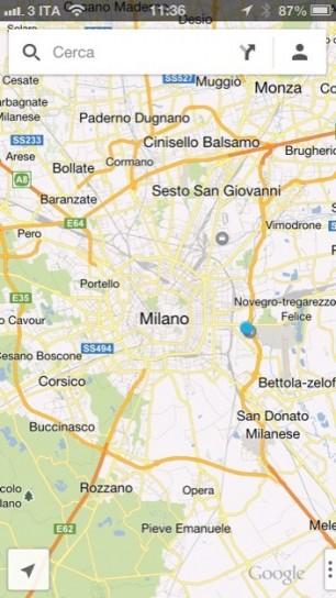 Google Maps - Milano