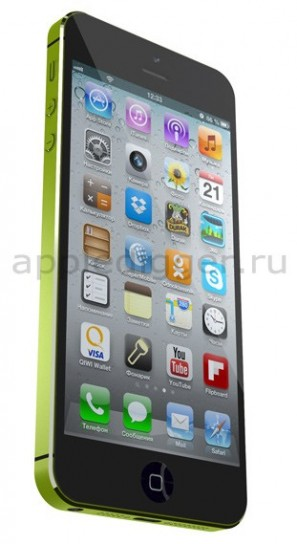 iPhone Maxi - Sei righe di app più dock