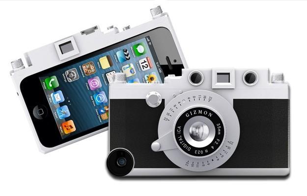 Custodia per iPhone 5 che lo trasforma in una fotocamera vintage [FOTO]
