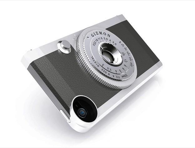 Custodia iPhone 5 Fotocamera Vintage Gizmon iCa - Isometrica