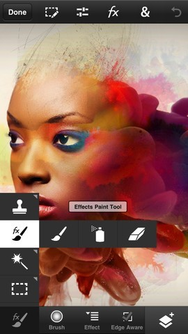 Adobe Photoshop Touch per iPhone - Strumenti