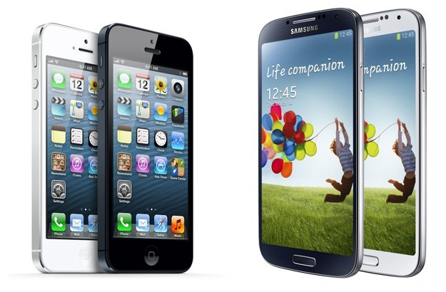 Samsung Galaxy S4 vs iPhone 5, confronto [FOTO]