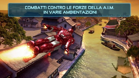 Iron Man 3 - Grafica di livello