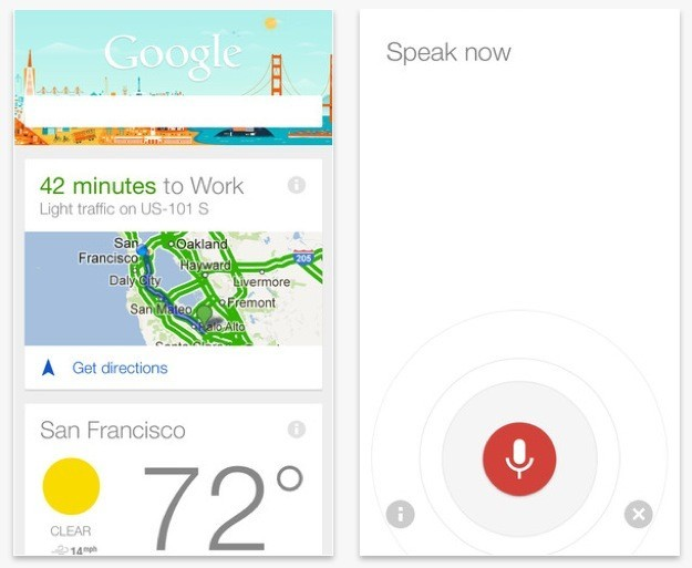 Google Now per iOS - Finalmente anche per iPhone e iPad