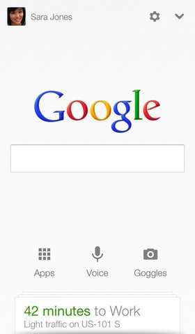 Google Now per iOS - Integrato in Ricerca Google