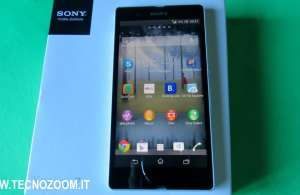 Sony Xperia Z recensione
