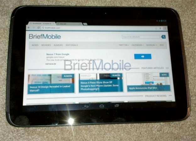 Samsung Nexus 10: anteprima foto