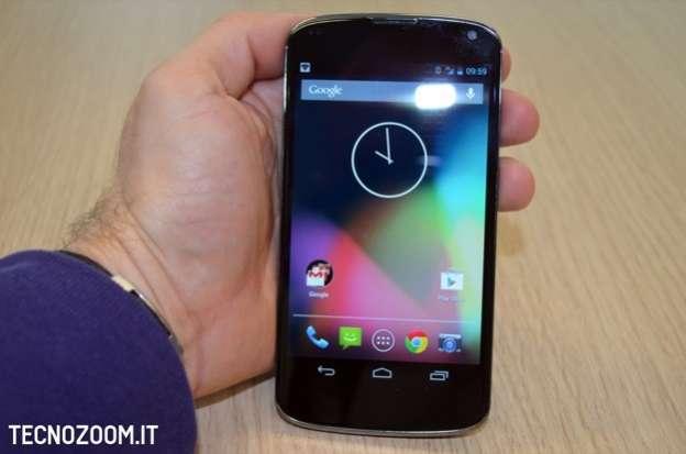 Google Nexus 4 - Foto recensione
