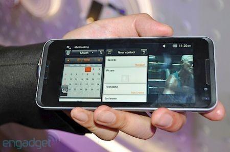 prova multitasking di LG GW990