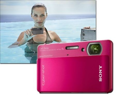 Sony Cyber-Shot TX5: fotocamera rugged impermeabile ultra slim