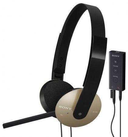 Sony DR-350USB e DR-320DPV: cuffie multiuso per la musica o parlare tramite PC
