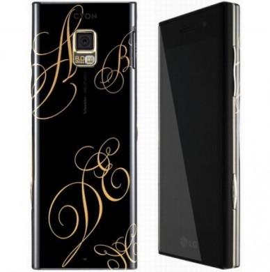 LG BL40 New Chocolate: scocca dorata e decorazioni per il mercato russo
