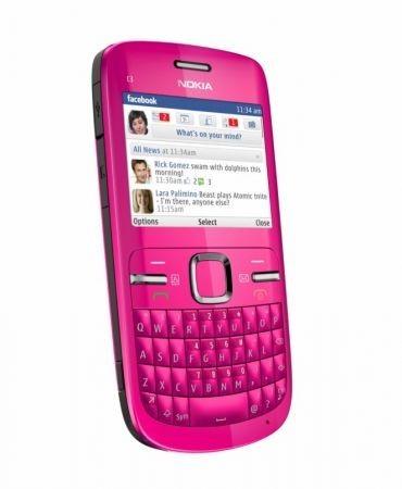 nokia C3 versione pink