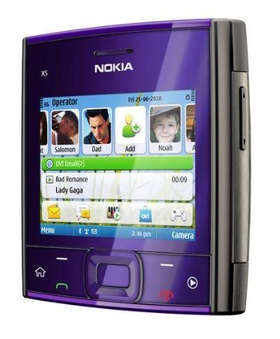 Nokia X5-01: smartphone tascabile con tastiera Full QWERTY