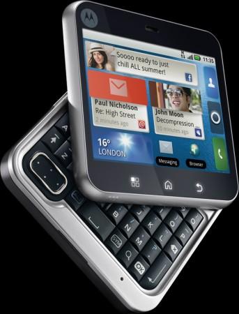 Motorola FLIPOUT con MOTOBLUR a breve in Italia
