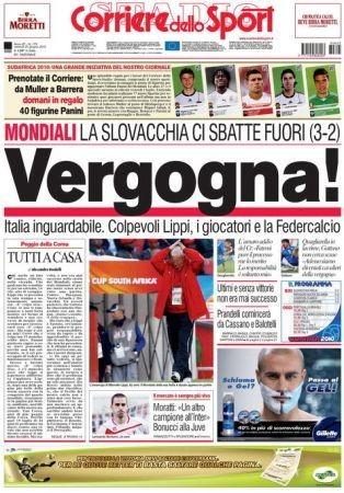 Internet e Youtube deridono la Nazionale Italiana di Calcio