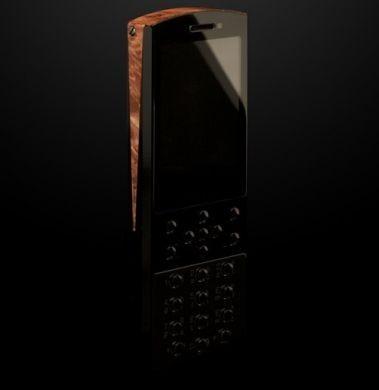 Mobiado Classic 712EM: cellulare di lusso in legno esotico
